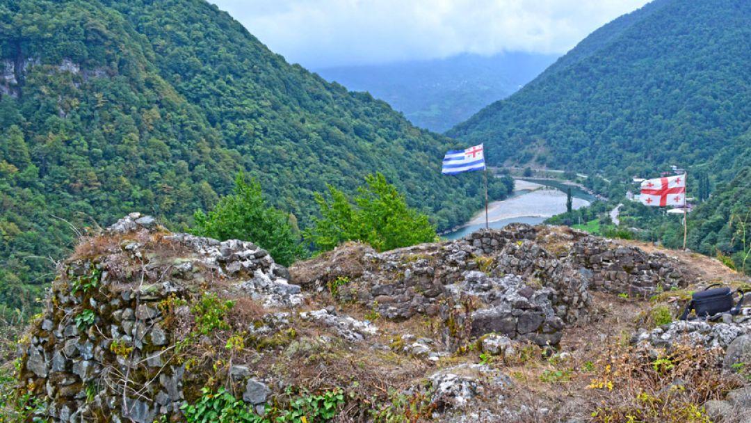 Самый удивительный уголок Европы — горная Аджария. Ущелье Мачахела - фото 8