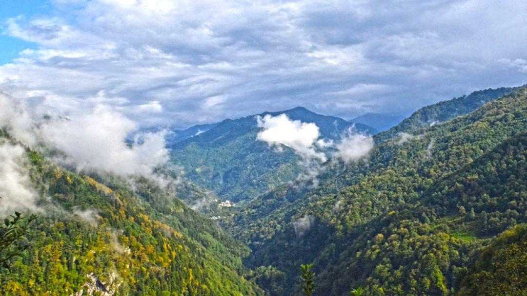 Самый удивительный уголок Европы — горная Аджария. Ущелье Мачахела - фото 13