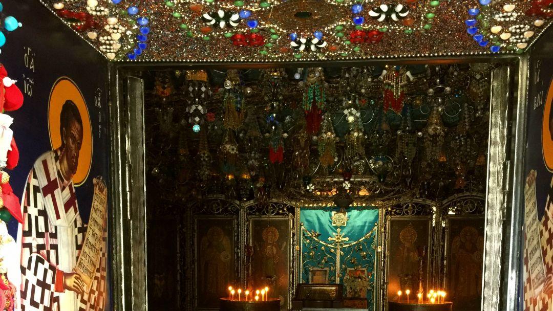 Качи-Кальон. Бисерный храм Анастасии Узорешительницы  - фото 6