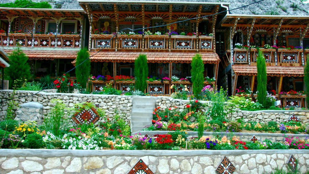 Качи-Кальон. Бисерный храм Анастасии Узорешительницы  - фото 15