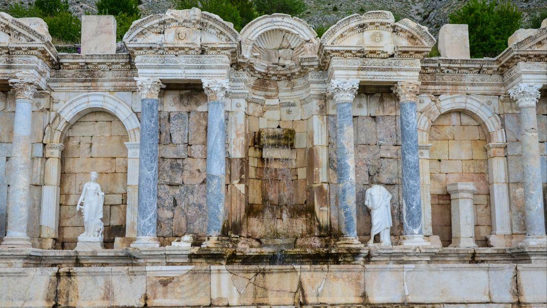 Сагалассос - город античных фонтанов