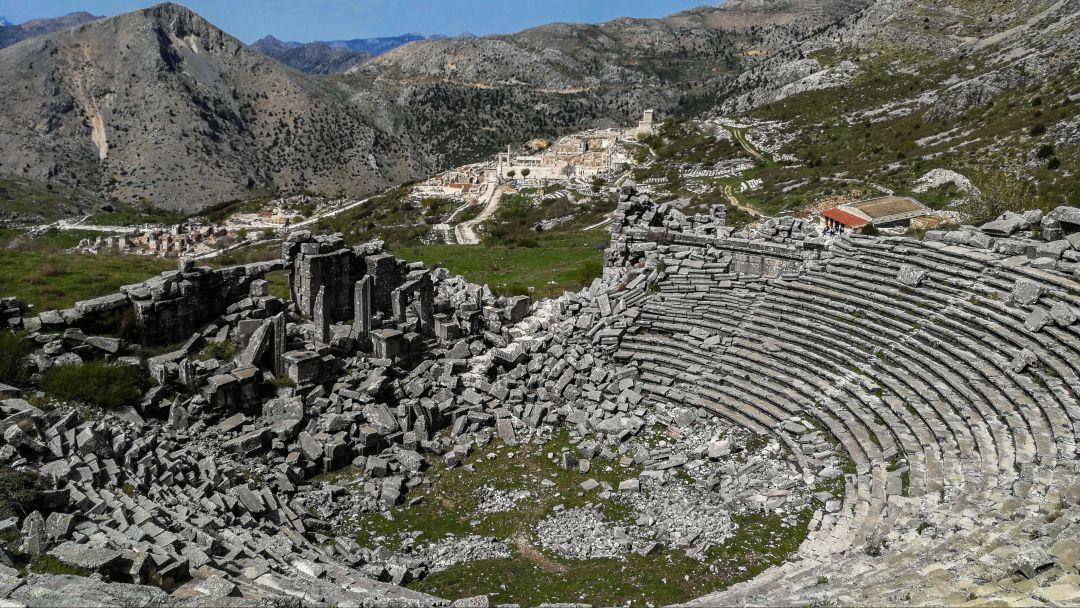 Сагалассос - город античных фонтанов - фото 3
