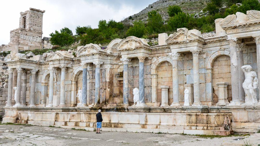 Сагалассос - город античных фонтанов - фото 7