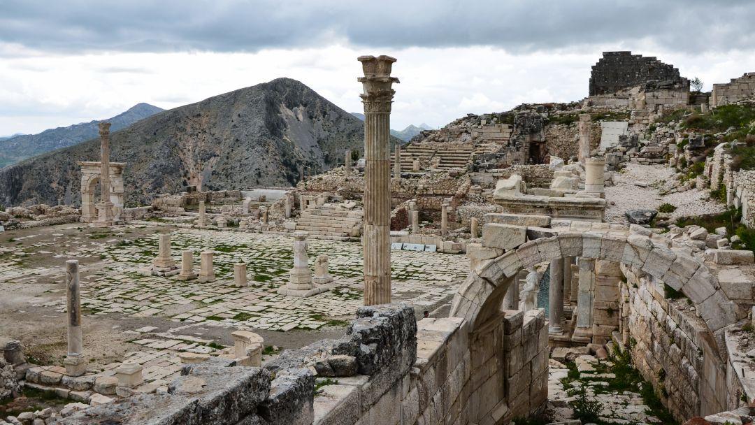 Сагалассос - город античных фонтанов - фото 9