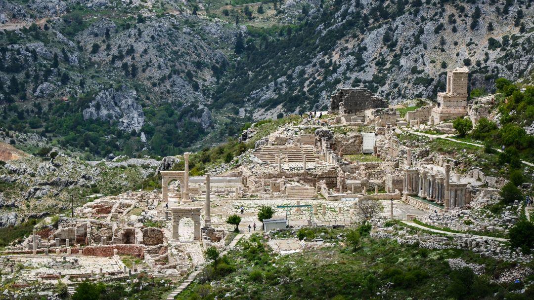 Сагалассос - город античных фонтанов - фото 10