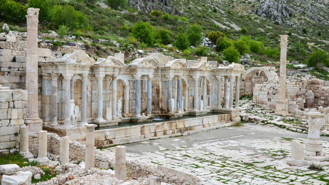 Сагалассос - город античных фонтанов - фото 11