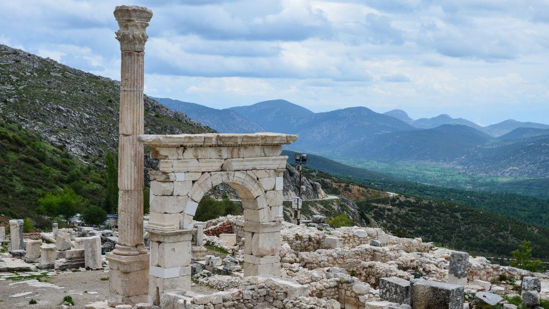 Сагалассос - город античных фонтанов - фото 12