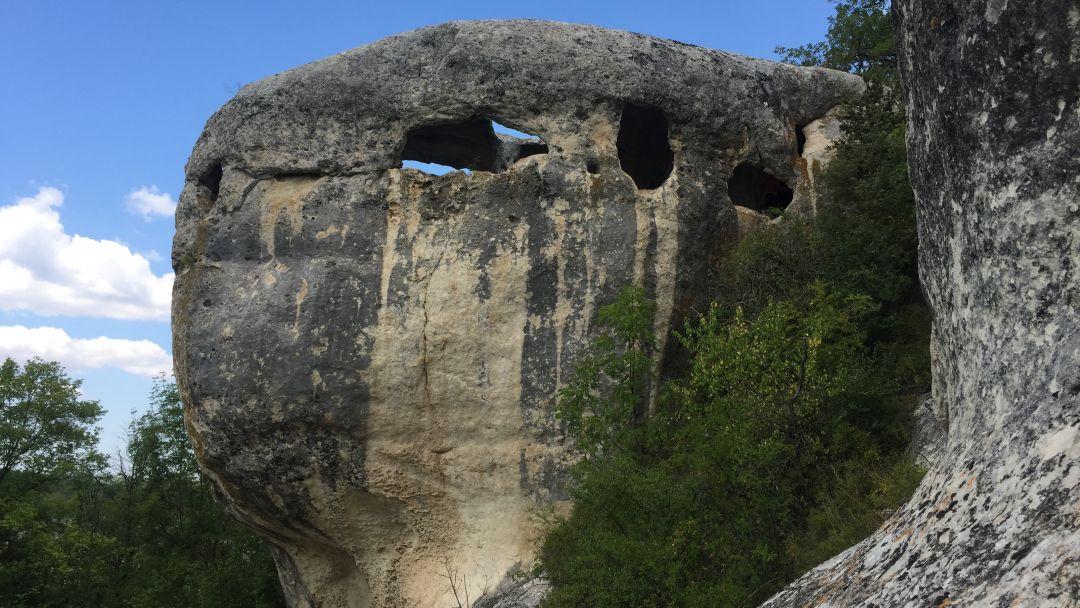 Пещерный город Эски-Кермен в Севастополе