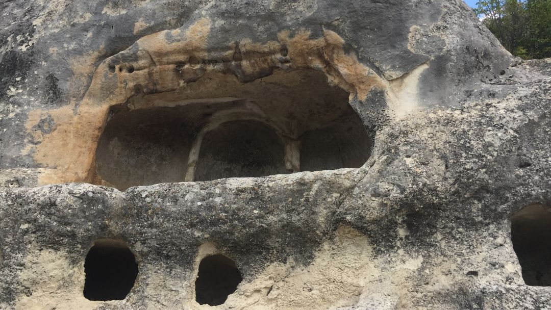 Пещерный город Эски-Кермен - фото 3