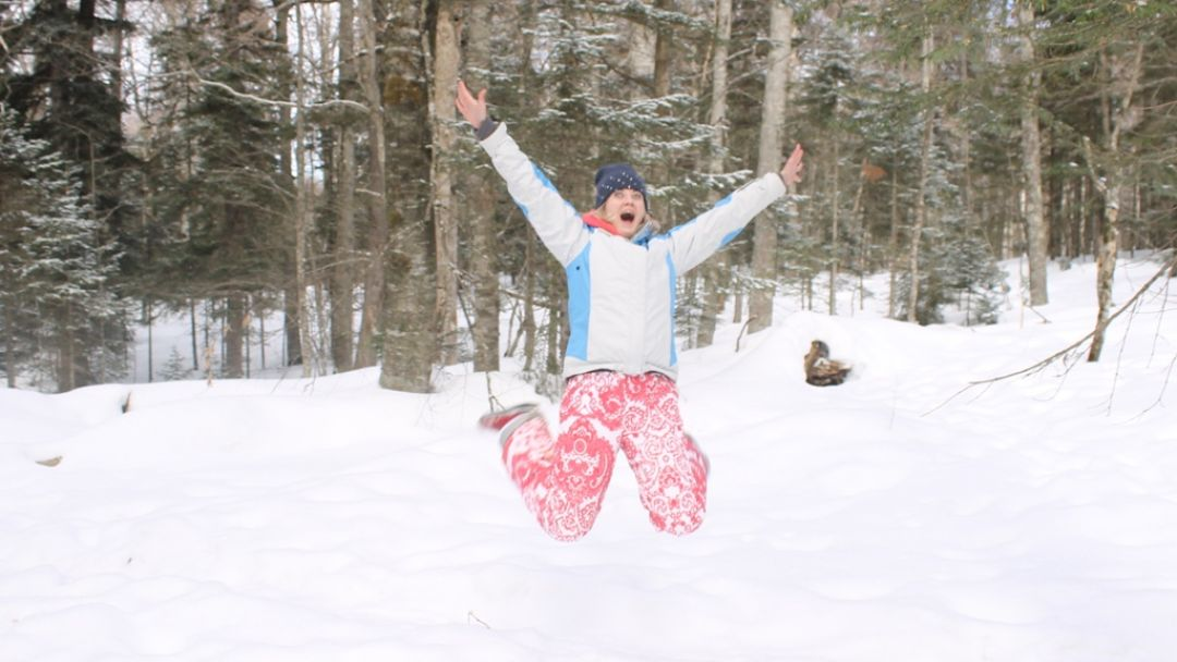 Адыгея, снежная сказка гор в Новороссийске