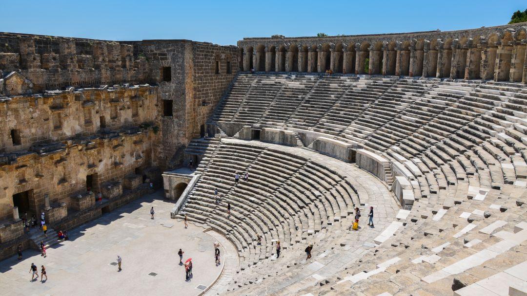 АСПЕНДОС - лучший римский театр в Анталии