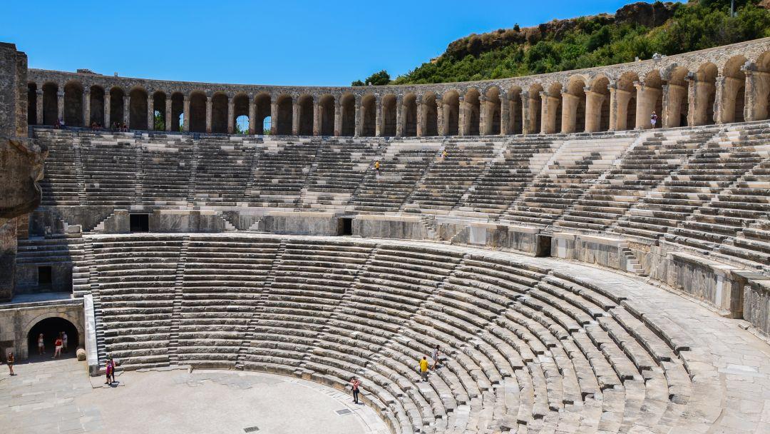 АСПЕНДОС - лучший римский театр в Анталии - фото 3