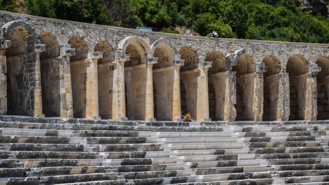АСПЕНДОС - лучший римский театр в Анталии - фото 4
