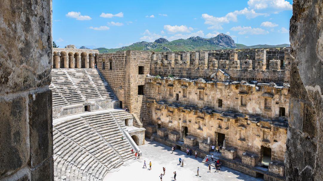АСПЕНДОС - лучший римский театр в Анталии - фото 6