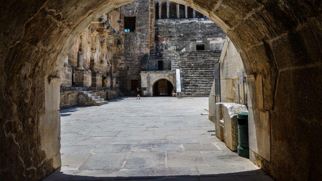 АСПЕНДОС - лучший римский театр в Анталии - фото 9
