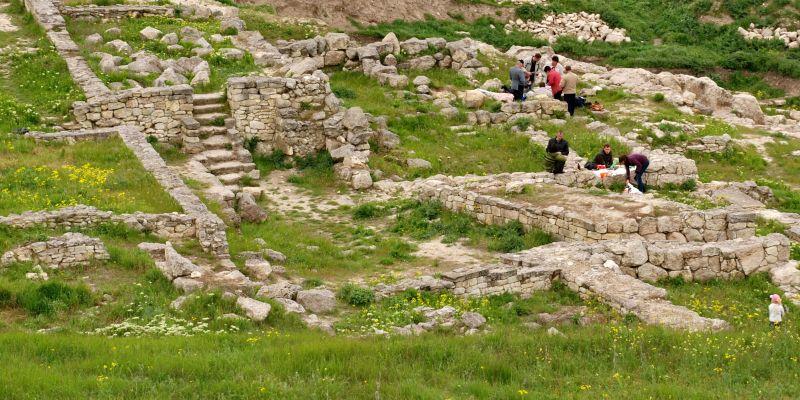 Руины древнего города Пантикапея