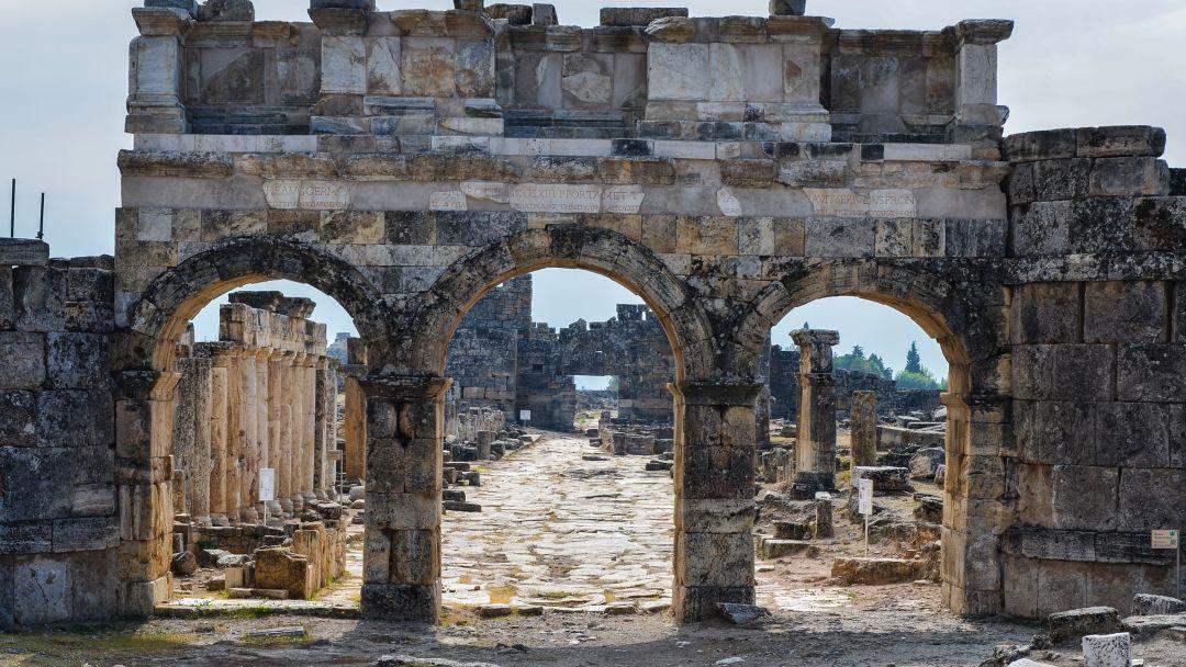 Памуккале - объект всемирного наследия ЮНЕСКО в Турции - фото 5