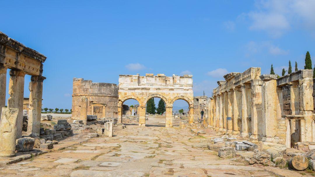 Памуккале - объект всемирного наследия ЮНЕСКО в Турции - фото 6