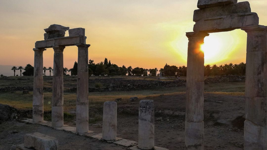 Памуккале - объект всемирного наследия ЮНЕСКО в Турции - фото 13