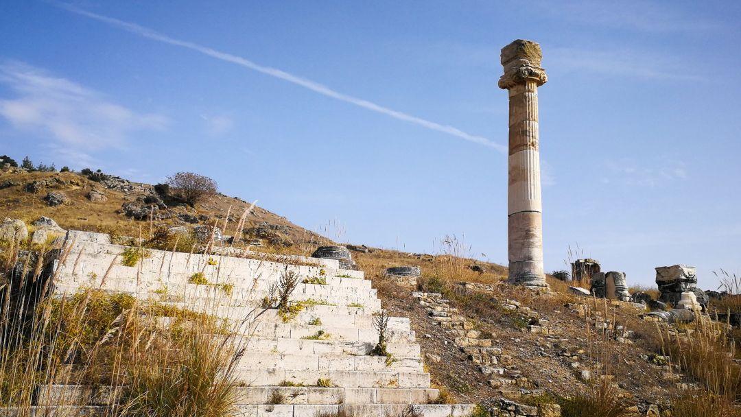 Памуккале - объект всемирного наследия ЮНЕСКО в Турции - фото 14