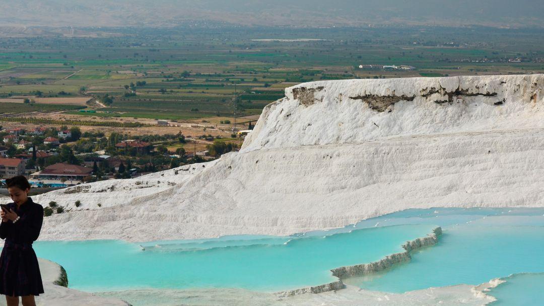 Памуккале - объект всемирного наследия ЮНЕСКО в Турции - фото 15