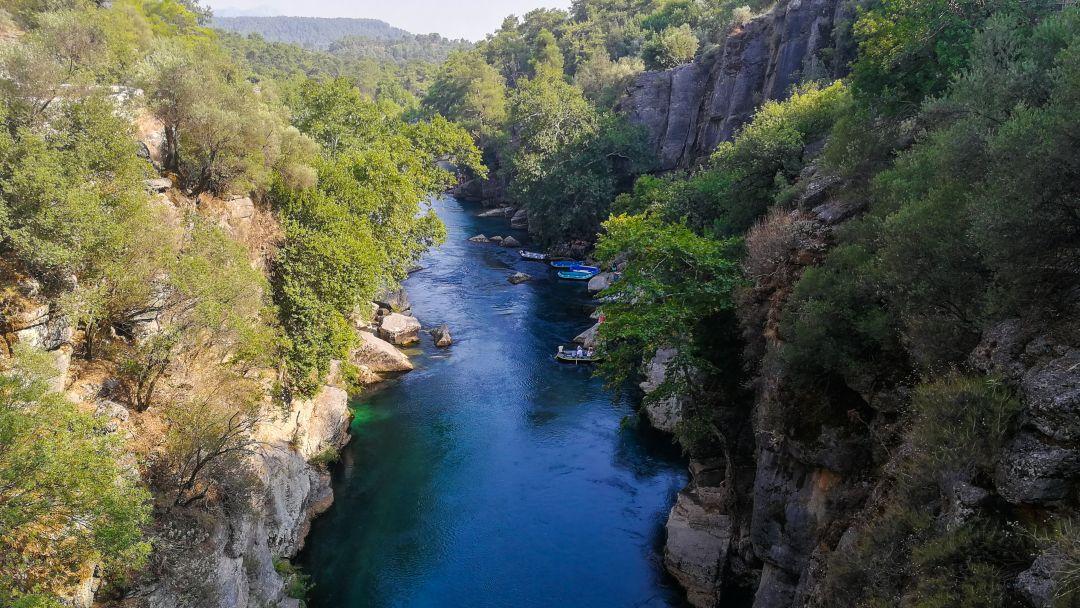 Тазы каньон и римский мост на одной реке - фото 2
