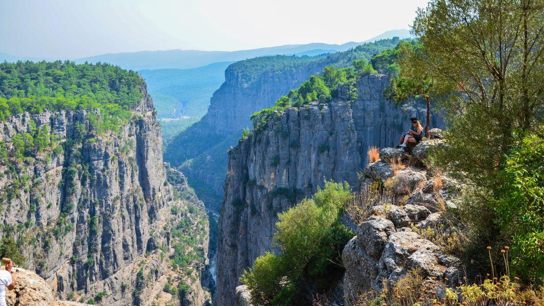Тазы каньон и римский мост на одной реке - фото 7