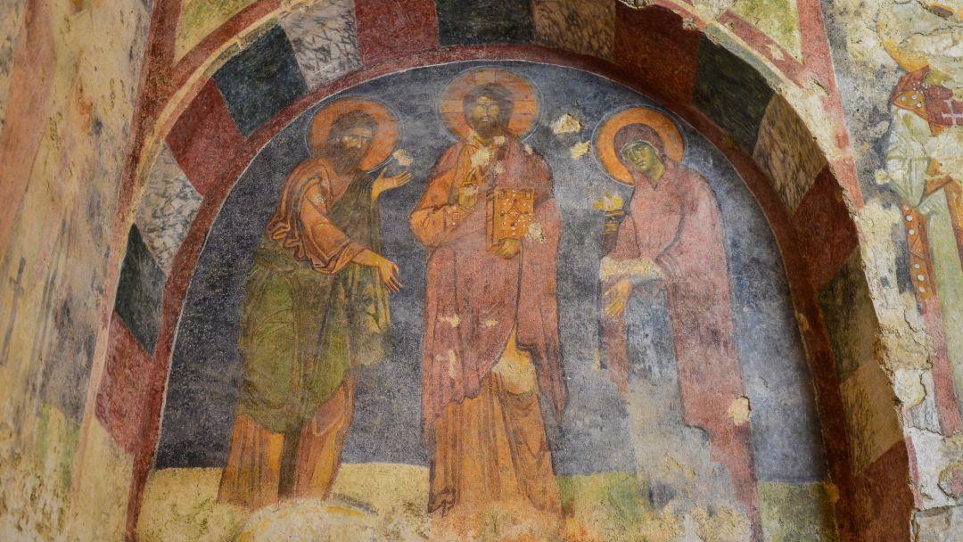 Церковь Святого Николая и Ликийские гробницы