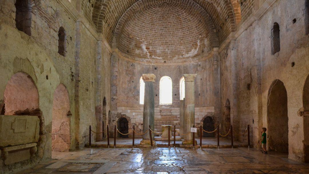 Церковь Святого Николая и Ликийские гробницы - фото 9