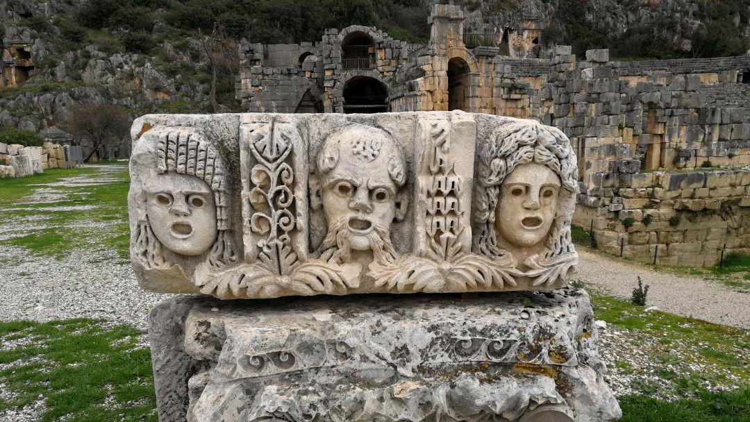Церковь Святого Николая и Ликийские гробницы - фото 18