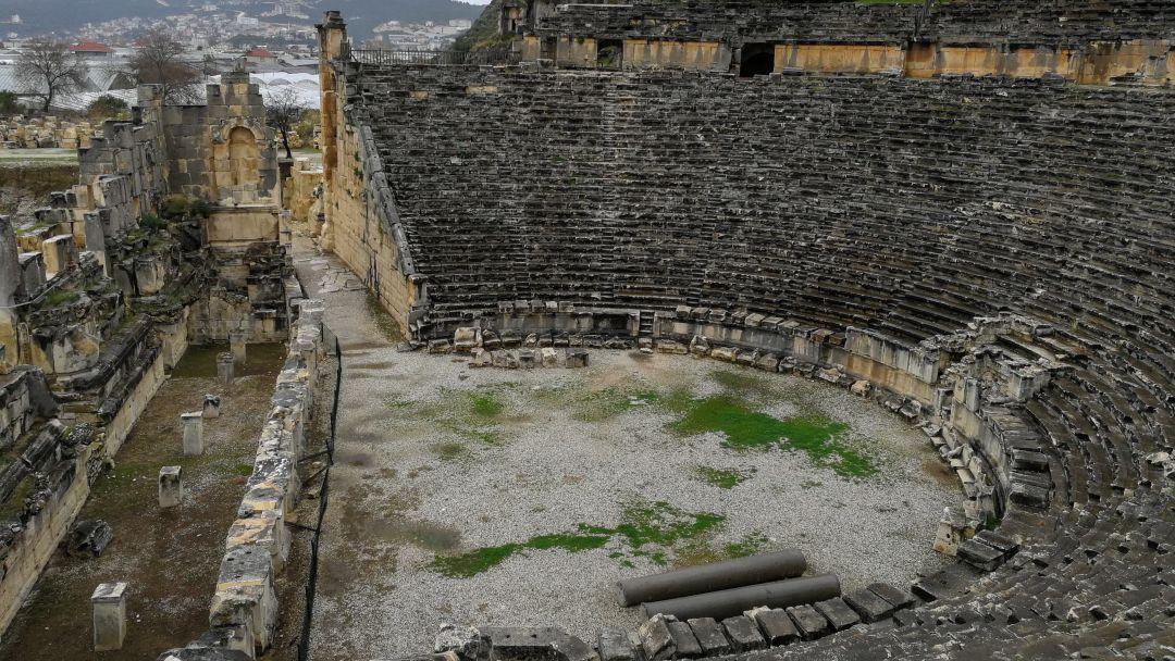 Церковь Святого Николая и Ликийские гробницы - фото 20