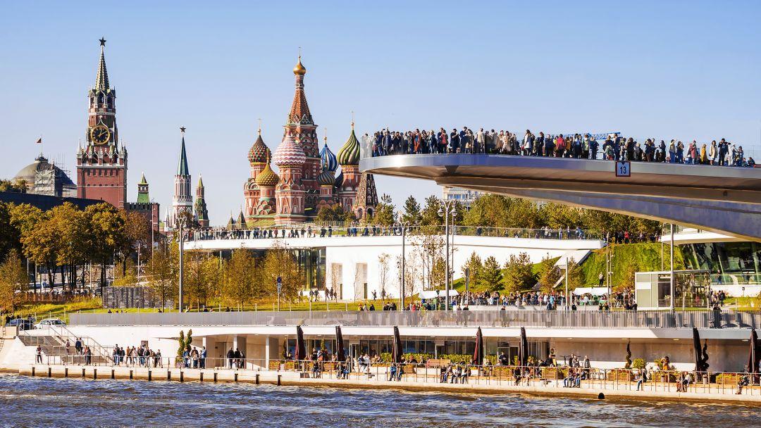 Экскурсионная прогулка в парк Зарядье в Москве
