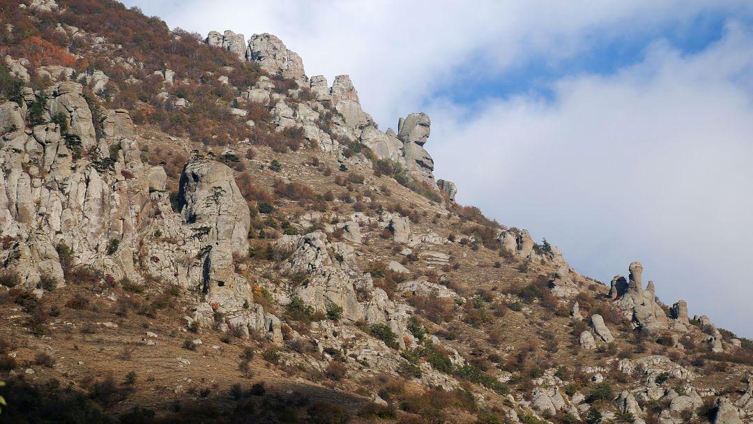 Конные прогулки у подножья горы Демерджи и знаменитой Долины Привидений - фото 4