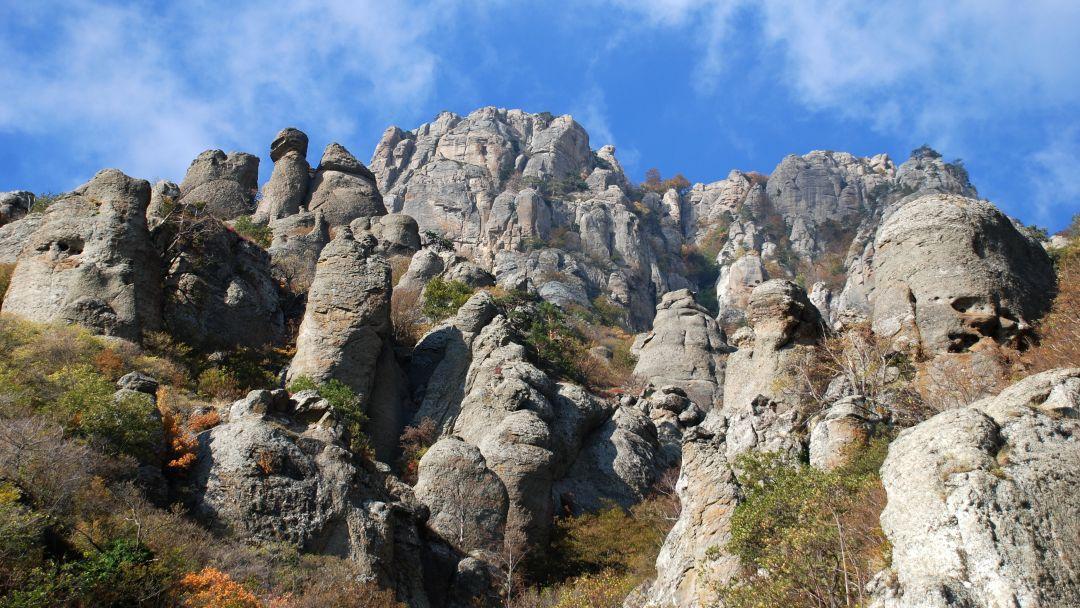 Конные прогулки у подножья горы Демерджи и знаменитой Долины Привидений - фото 5