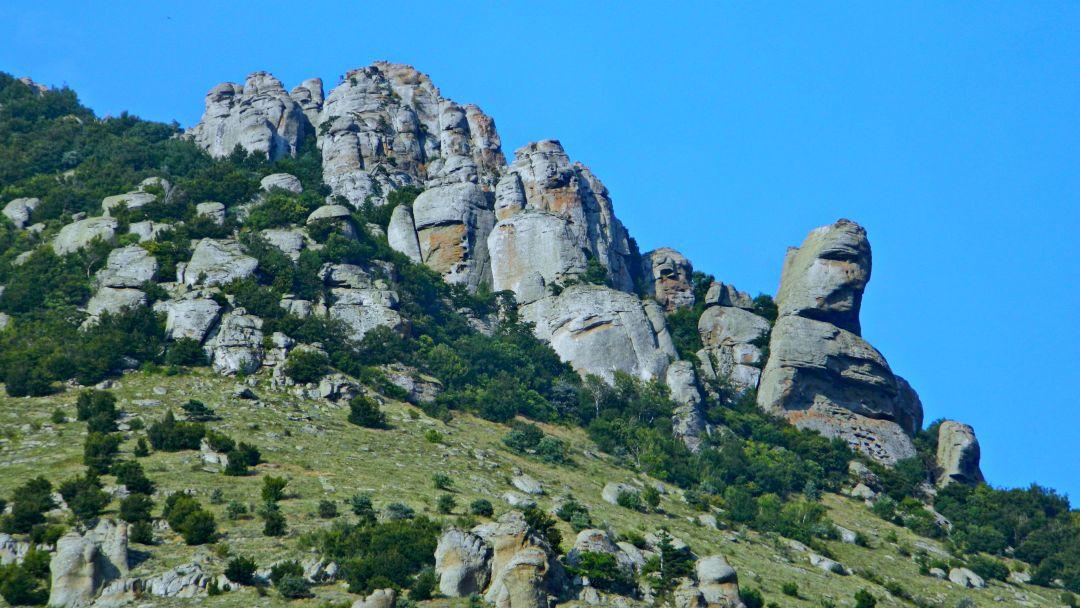 Конные прогулки у подножья горы Демерджи и знаменитой Долины Привидений - фото 6