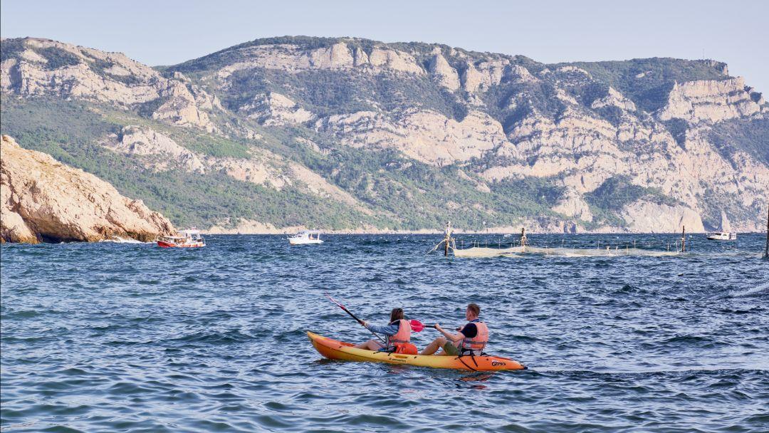Морской каякинг Гроты Голубой бухты - полудневный маршрут - фото 2