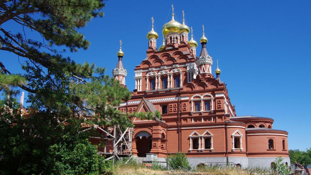 Топловский монастырь в Коктебеле