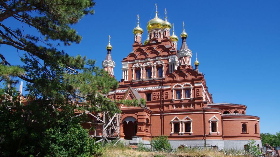 Топловский женский монастырь в Феодосии