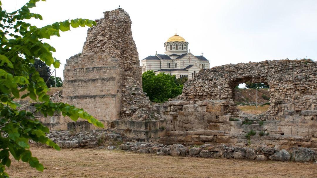 Путешествие в прошлое - Античный Херсонес - фото 3