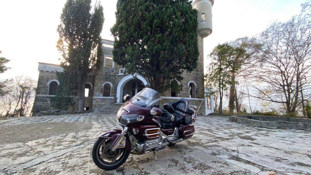 На мотоцикле на Дагомысские корыта + Солохаул в Адлере