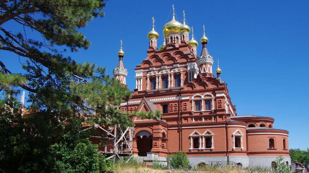 Топловский монастырь в Приморском