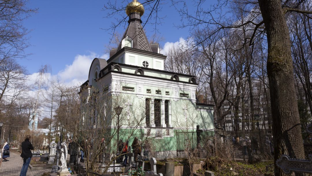 Небесные покровители Санкт-Петербурга в Санкт-Петербурге