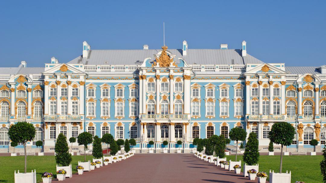 Пушкин (Екатерининский парк, Дворец и Янтарная комната) - фото 3