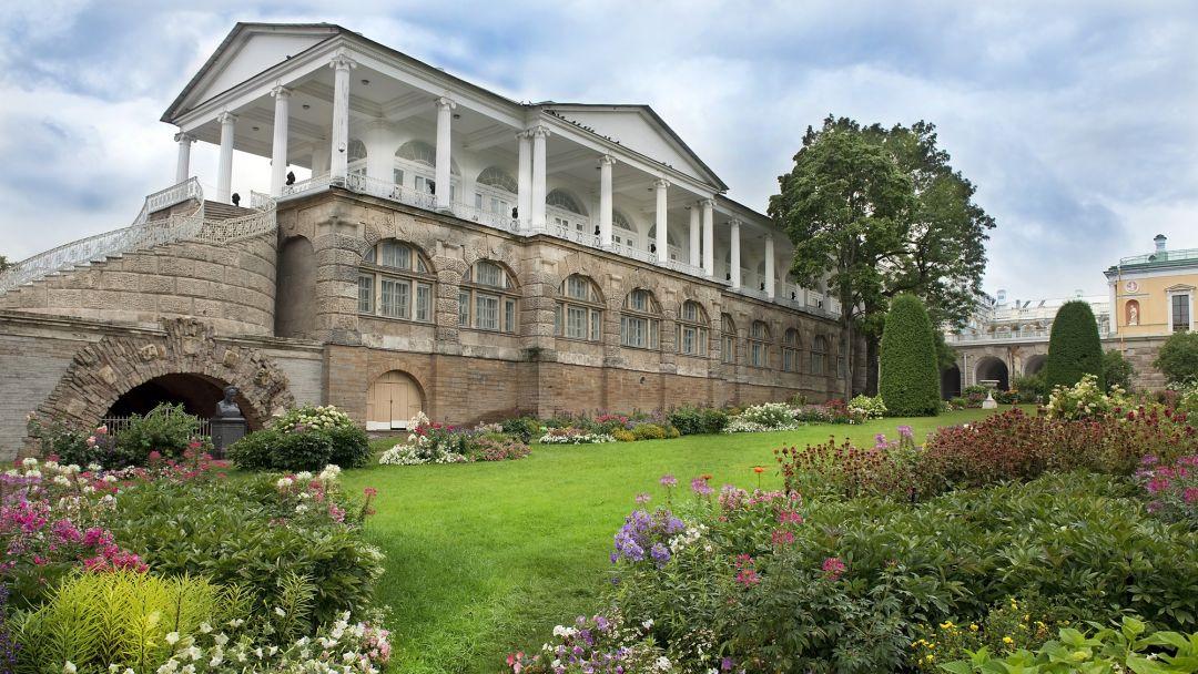 Пушкин (Екатерининский парк, Дворец и Янтарная комната) - фото 4