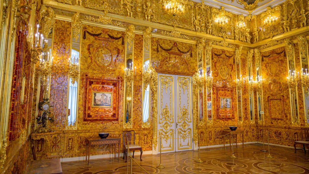 Пушкин (Екатерининский парк, Дворец и Янтарная комната) - фото 5
