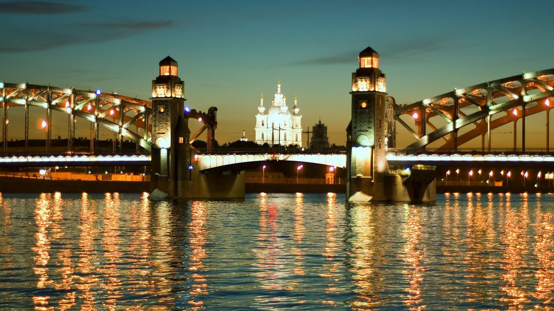 Ночная экскурсия по Санкт-Петербургу+теплоходная прогулка - фото 2
