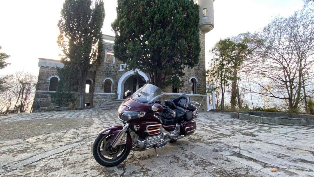 На мотоцикле на Красную Поляну в Адлере
