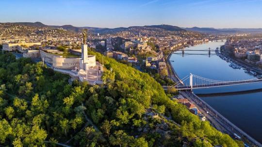 Гора Геллерт в Будапеште в Будапеште