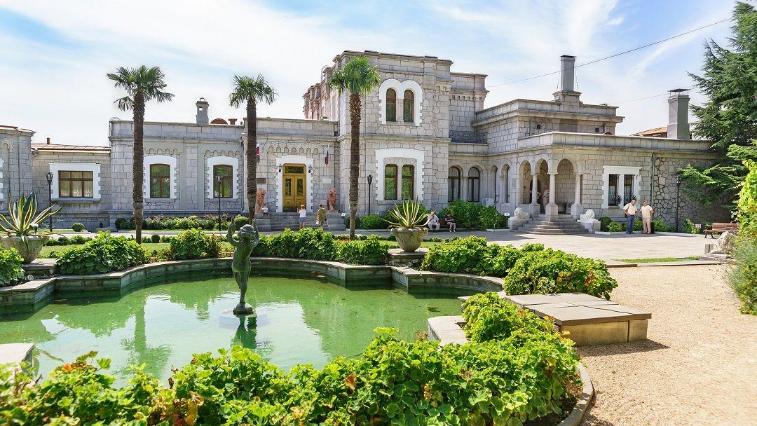 Юсуповский дворец в Ялте