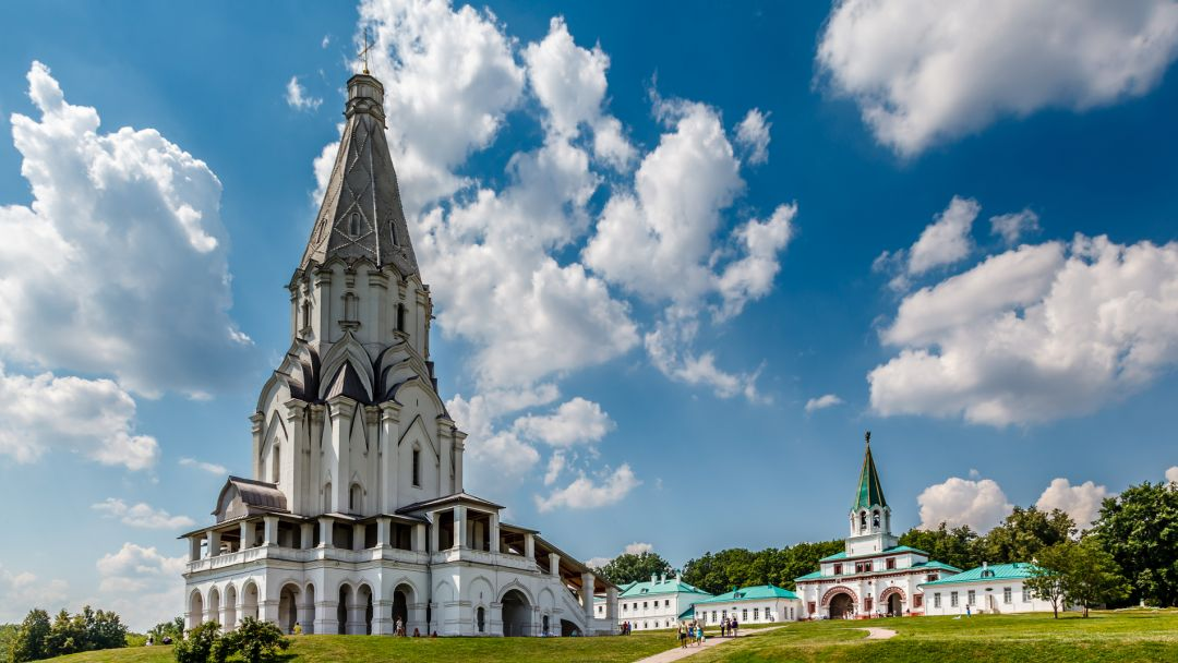 Царская резиденция – Коломенское в Москве